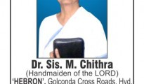 Dr.Chithra hebron-times